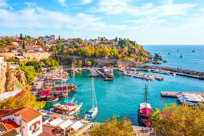 Old Town in Antalya