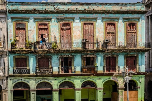 Old building in Havana