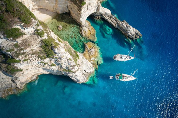 Paxos Greece Sailing