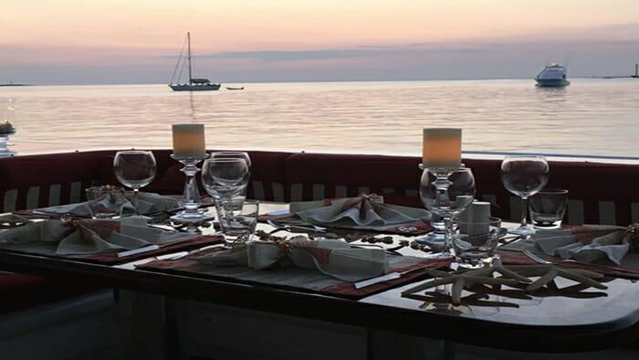 Pegasus IX Deck Dining Table