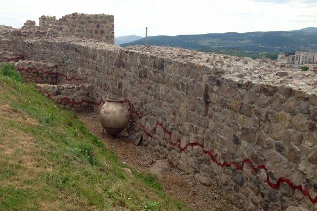 Peristera fortress ruins
