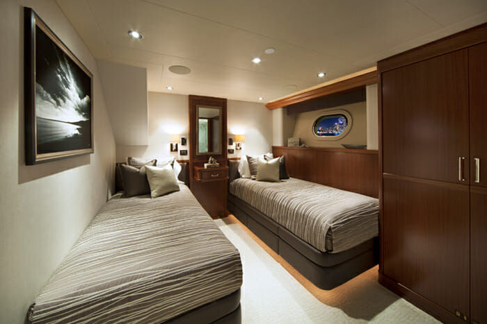 Pipe Dream Twin Stateroom 1