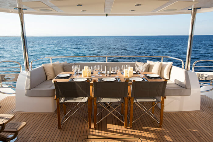 Play The Game Aft Deck Dining