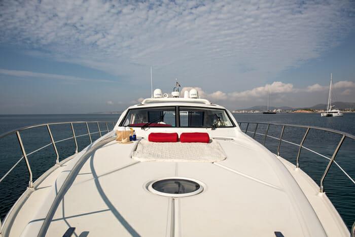 Red One II- Forward deck