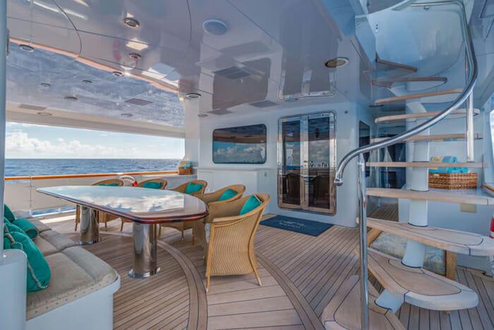 Awesome Yacht Relentless 145 Trinity Motor Yacht Worldwide Boat Creativecarmelina Interior Chair Design Creativecarmelinacom