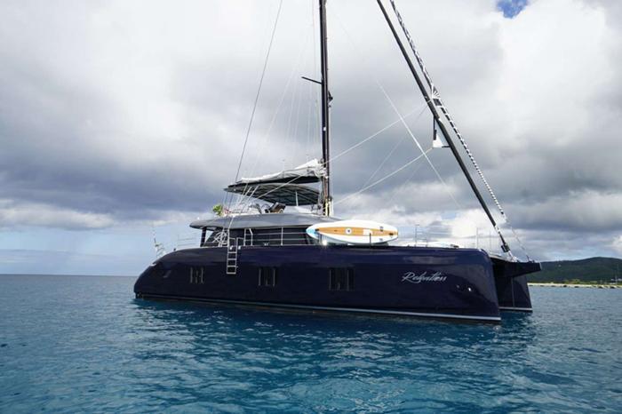 Relentless catamaran