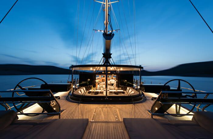 Rox Star Deck At Night
