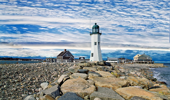 Scituate Lighthouse New England