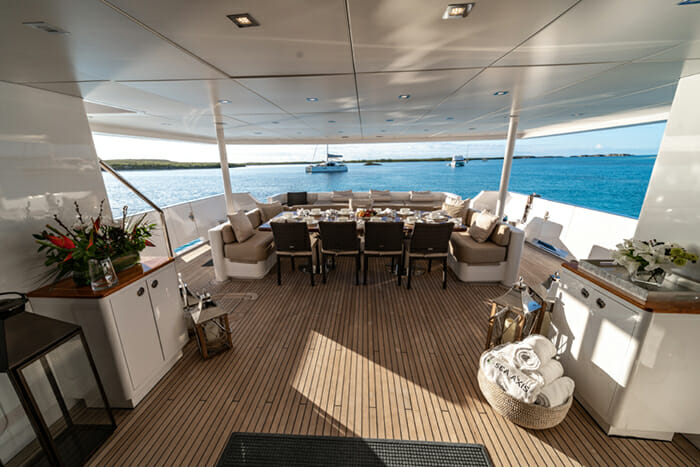 Sea Axis aft deck