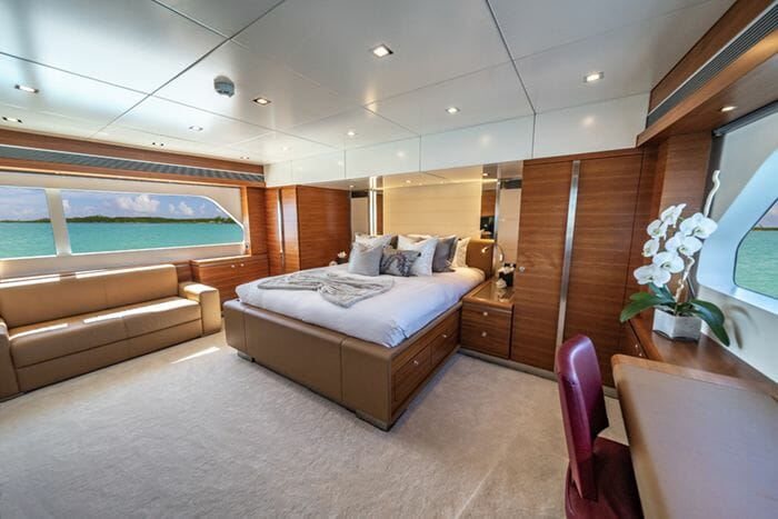Sea Axis master stateroom