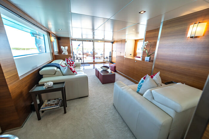 Sea Axis skylounge looking aft