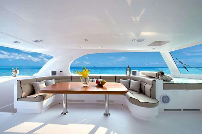 Seaglass Flybridge Seating