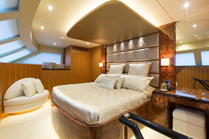 Seaglass Master Cabin