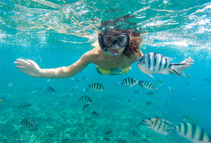 Snorkeling in Koh Racha