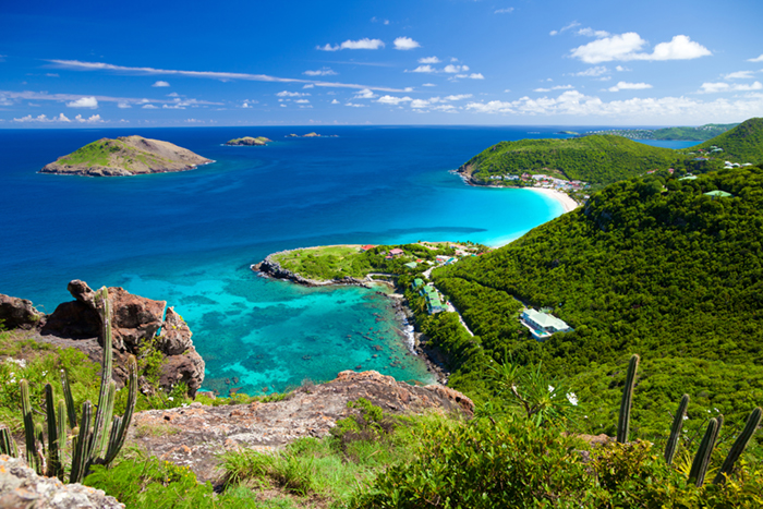 St Barts island - a premier yacht charter destination