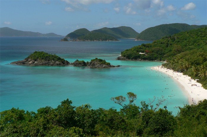 St John, a popular yacht charter destination
