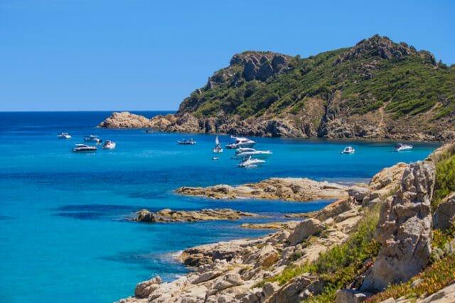 St Tropez bay