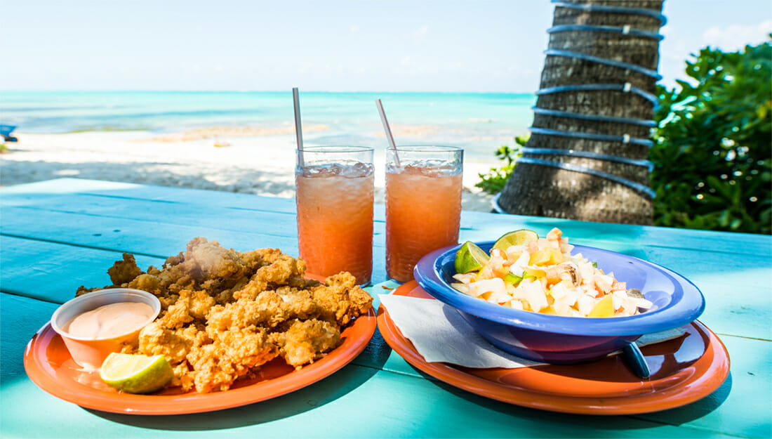 Traditional Bahamian dishes
