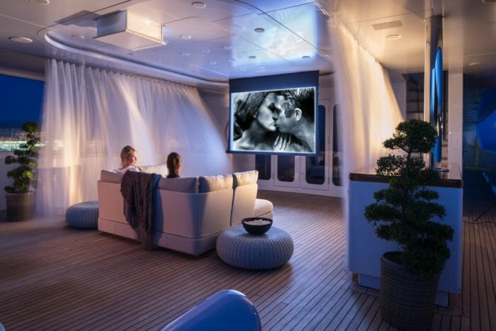 Turquoise Cinema on Main Deck