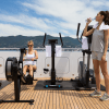 Turquoise Gym on Main Deck