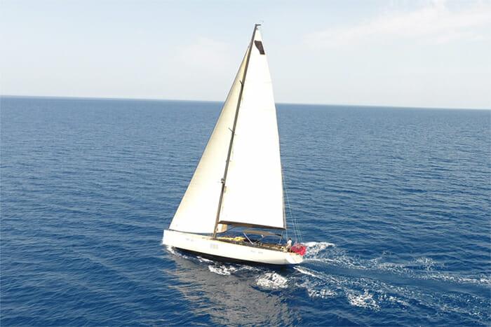 Tuscan Spirit sailing