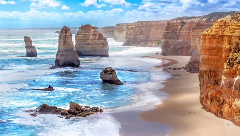 Twelve Apostoles in Australia