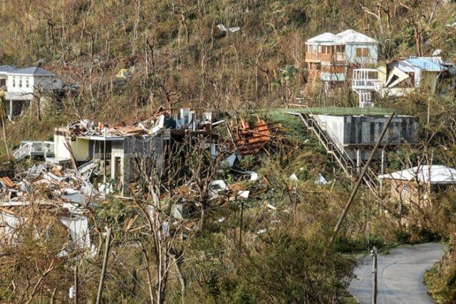 Virgin Islands Hurricane Irma destruction