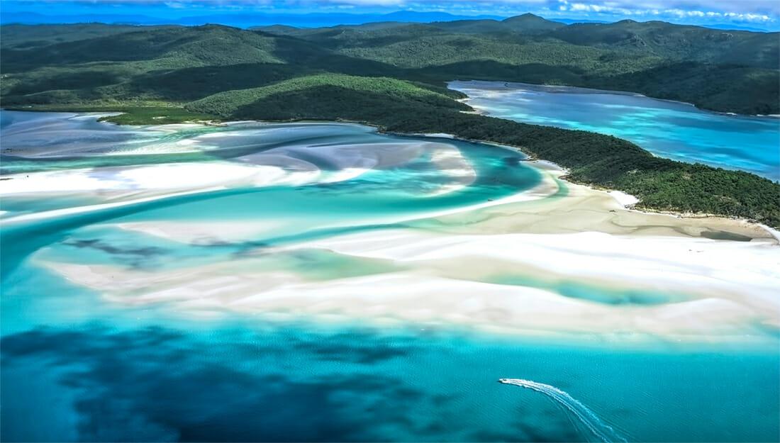 Whitsunday Islands in Australia