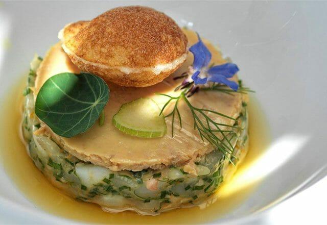 Winning dish from Chef Konstantinos Vlantikas of Nashira
