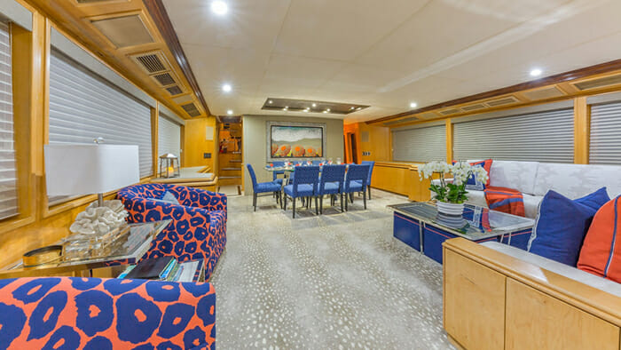 Yacht Alexandra Jane Salon