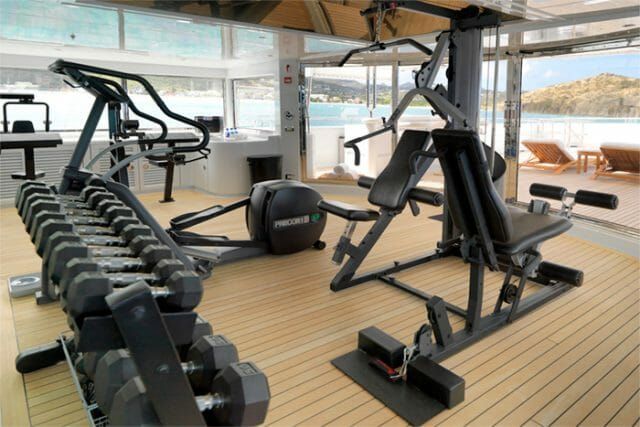 Yacht Apogee Gym