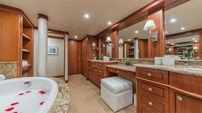Yacht At Last Master Bathroom