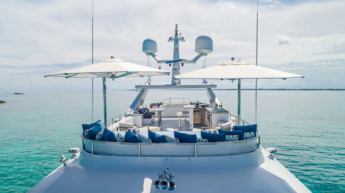 Yacht At Last Sundeck