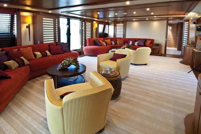 Yacht Balista Skylounge