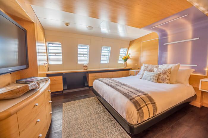 Yacht Bella Vita Master Cabin