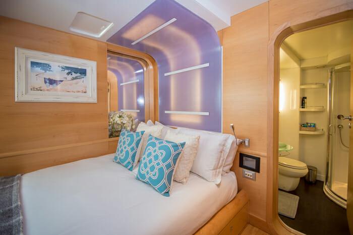 Yacht Bella Vita guest cabin