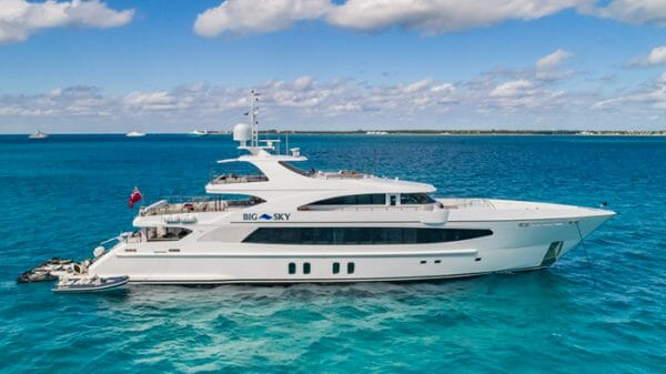 BIG SKY Yacht Charter | 157 5' Oceanfast Motor Yacht