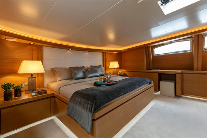 Yacht Celia VIP cabin