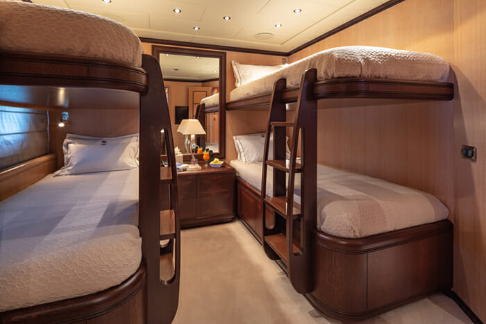 Yacht Cosmos I four bed cabin