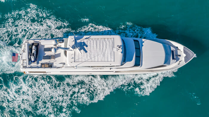 Yacht High Rise aerial view