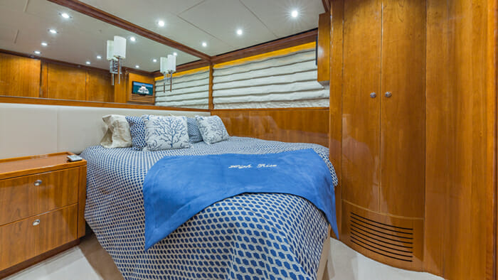Yacht High Rise convertible cabin 1 set as double