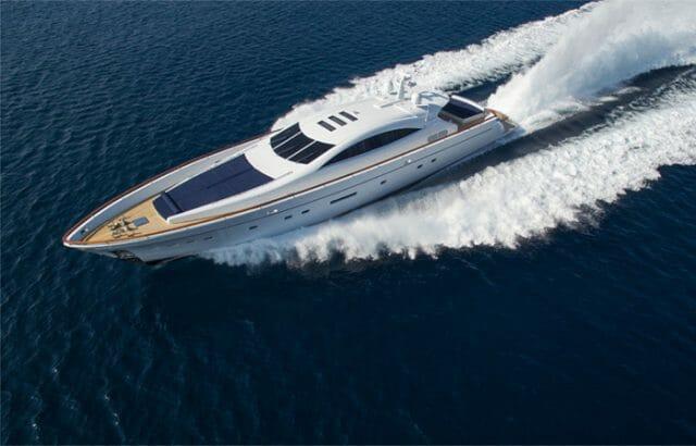 Yacht Kambos Blue