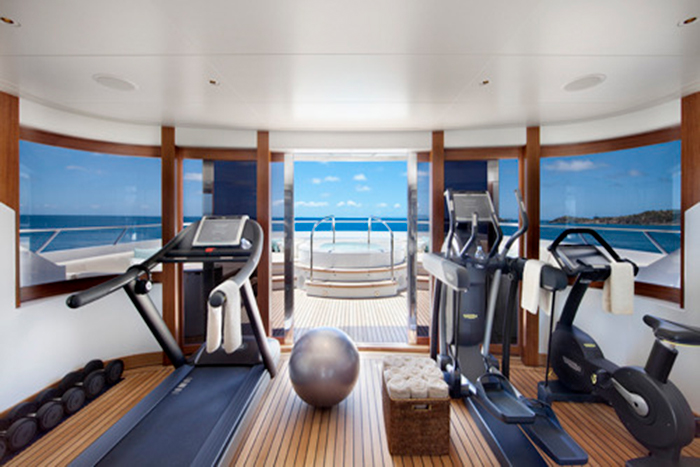 Yacht Lady Britt Gym