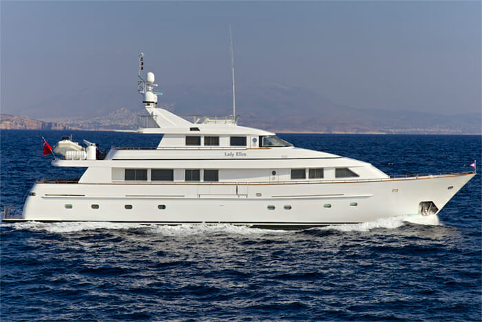 Yacht Lady Ellen Profile