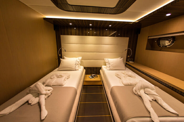 Yacht Le Pietre Twin Stateroom