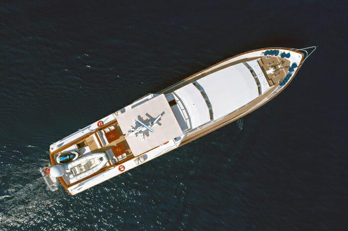Yacht Nauta Aerial