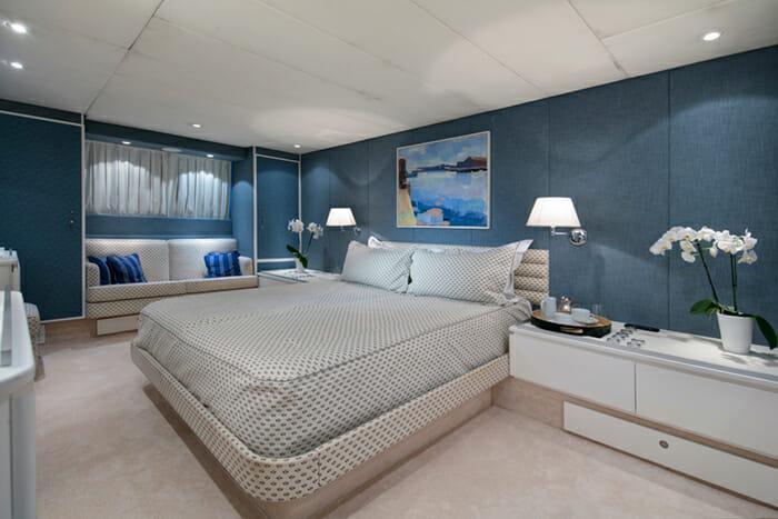Yacht Nauta Master cabin