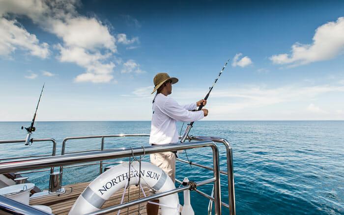 Yacht Northern Sun Fishing