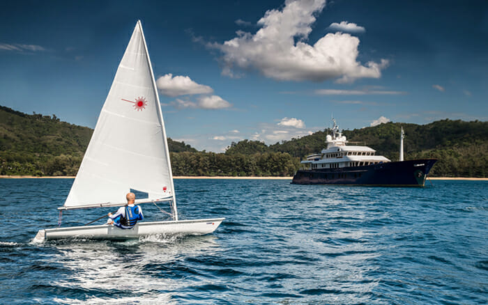 Yacht Northern Sun Laser Dingy