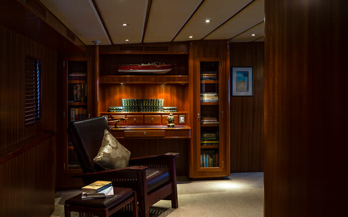 Yacht Northern Sun Private Office